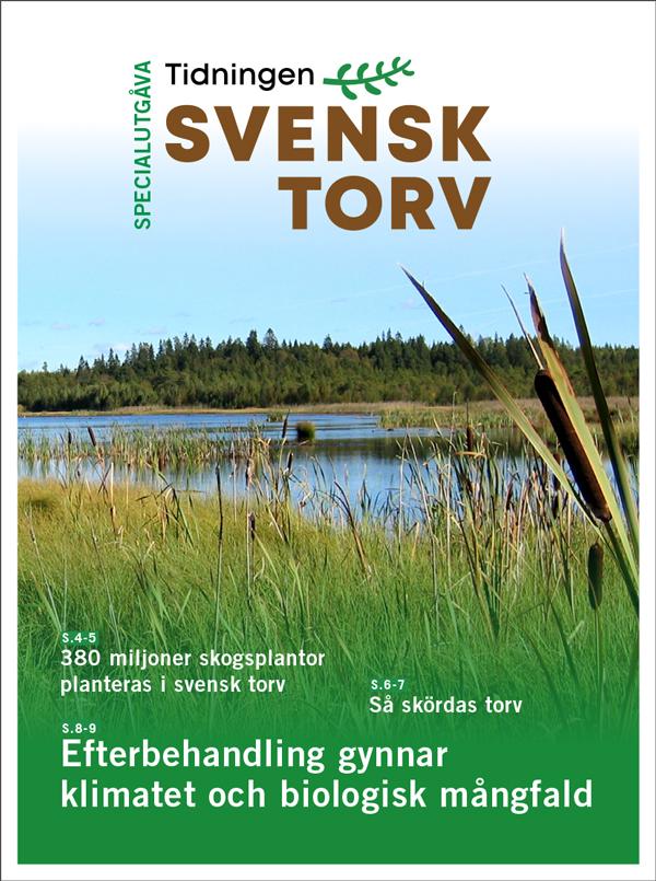 Tidningen Svensk Torv - Specialutgåva